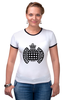 "Футболка Рингер ""ministry of sound"" - house, trance, london, dance, uk, nightclub, ночной клуб, министерство звука"