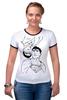 "Футболка Рингер ""AlterEgo"" - comics, супермен, комиксы, superman, dc, clarkkent"