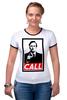"""Футболка Рингер """"Better call Saul"""" - obey, better call saul, лучше звоните солу, сол гудман"""