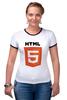 "Футболка Рингер ""HTML 5"" - html, хтмл"