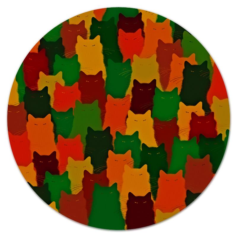 Коврик для мышки (круглый) Printio Домашние питомцы фабрика фантазий набор для создания фигурок из гипса домашние питомцы