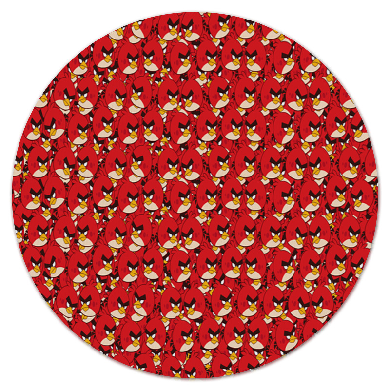 Коврик для мышки (круглый) Printio Angry birds