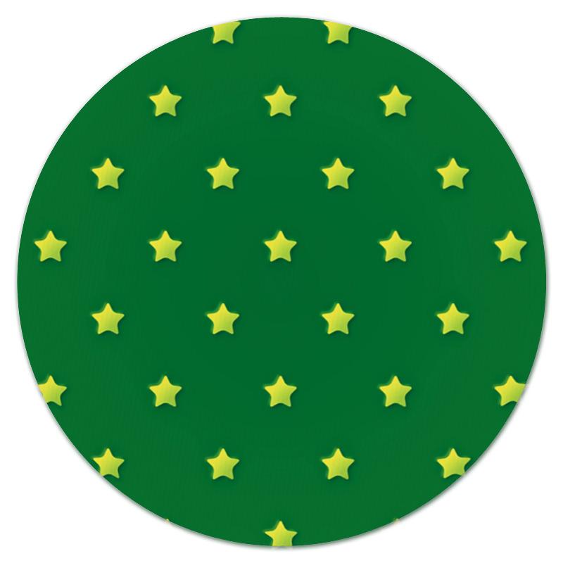 Коврик для мышки (круглый) Printio Звездочки