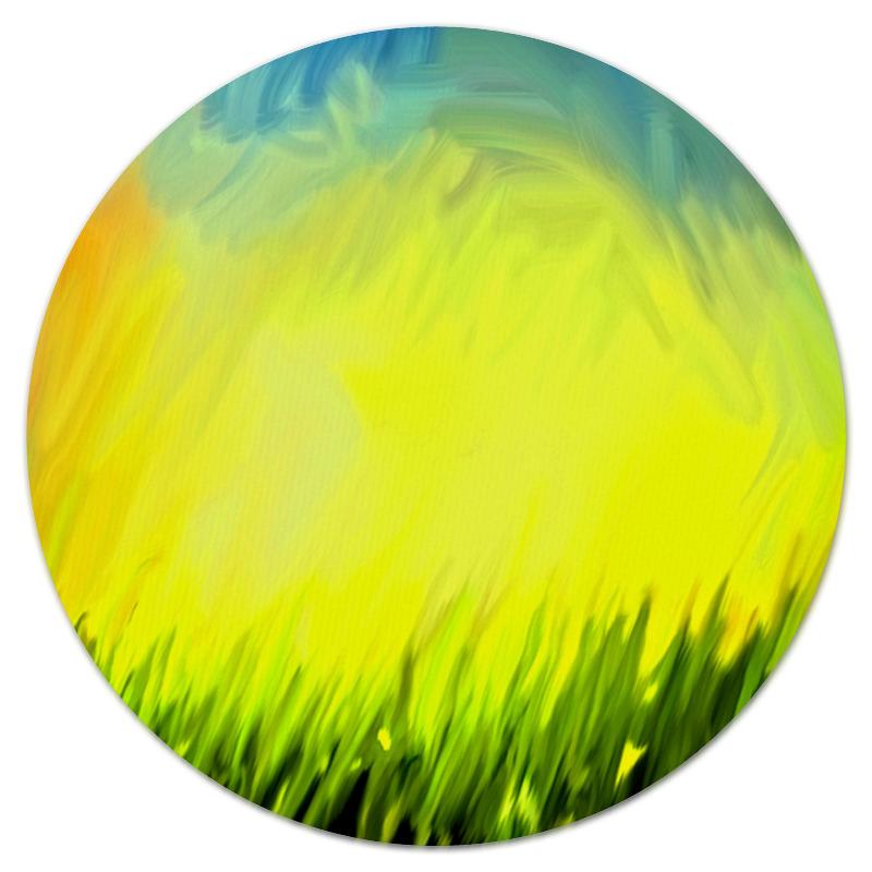 Коврик для мышки (круглый) Printio Краски лета