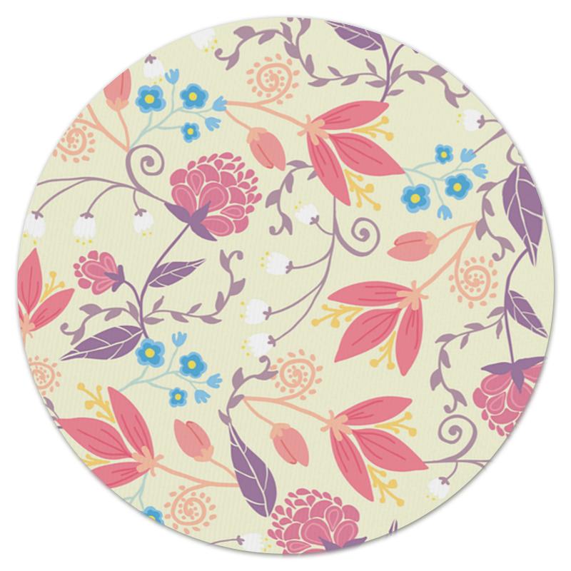 Фото - Printio Весенние цветочки коврик для мышки круглый printio цветочки