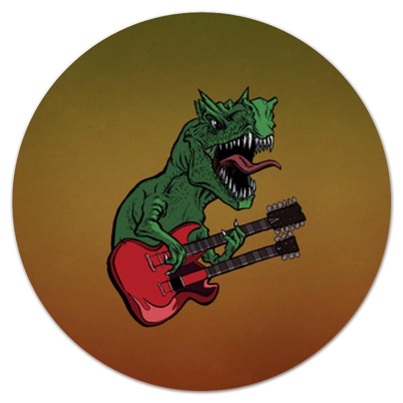 Коврик для мышки (круглый) Printio Динозавр