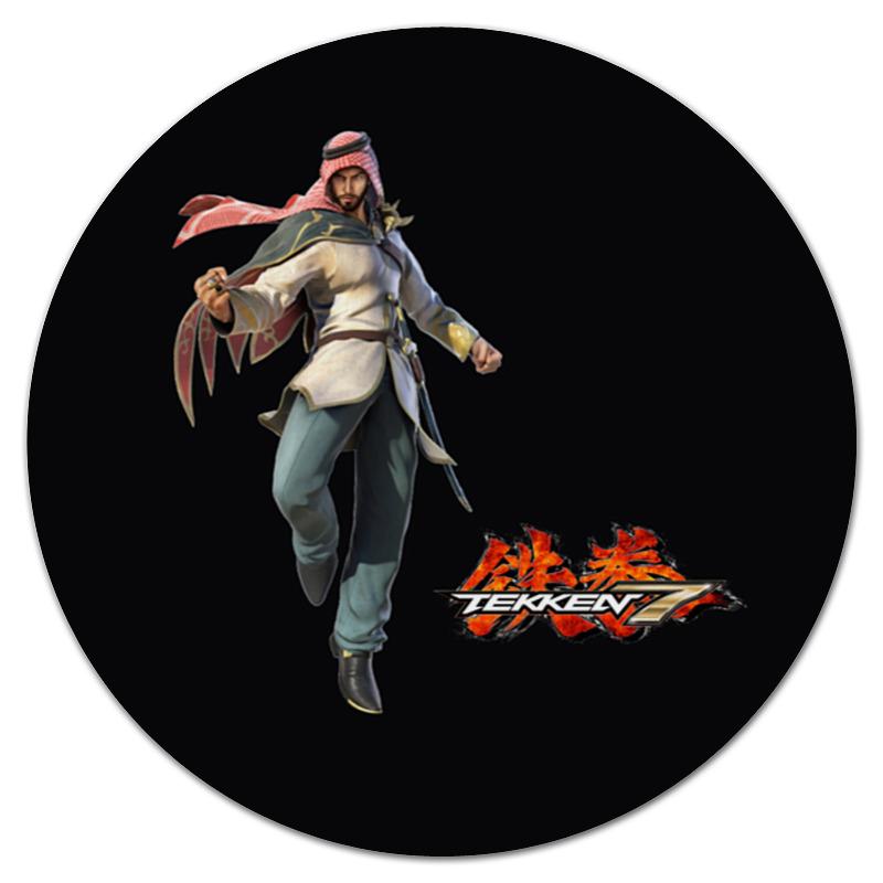 Коврик для мышки (круглый) Printio Tekken 7 цена и фото