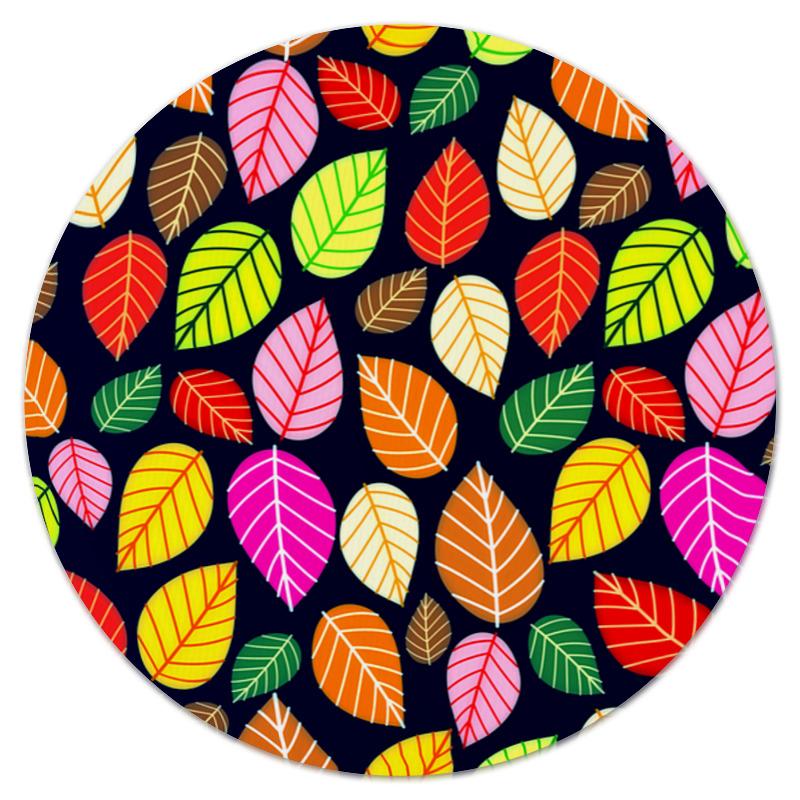 Коврик для мышки (круглый) Printio Листва платье летнее printio листва