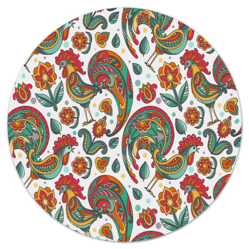 Коврик для мышки (круглый) Printio Петух