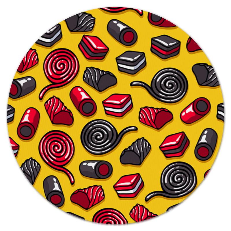 Коврик для мышки (круглый) Printio Конфетки костюм новогодней конфетки 40 44