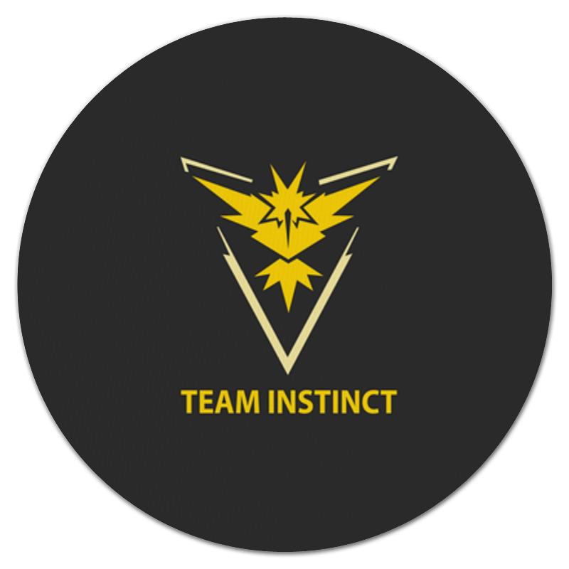 Коврик для мышки (круглый) Printio Team instinct терминал opticalcon neutrik no12fdw a