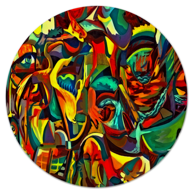 Коврик для мышки (круглый) Printio Картина