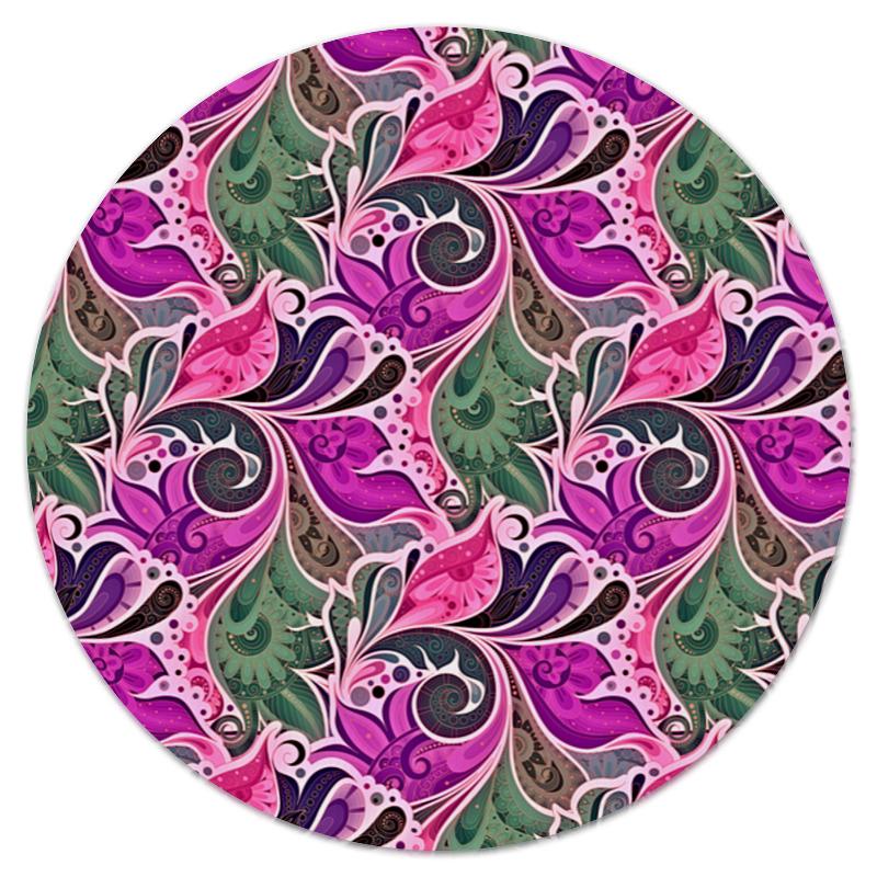 Коврик для мышки (круглый) Printio цветы расписные коврик для мышки круглый printio цветы фэнтези