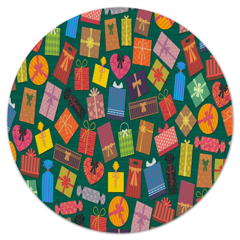 Коврик для мышки (круглый) Printio Подарок