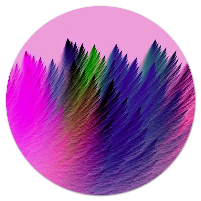Коврик для мышки (круглый) Printio Взрыв красок