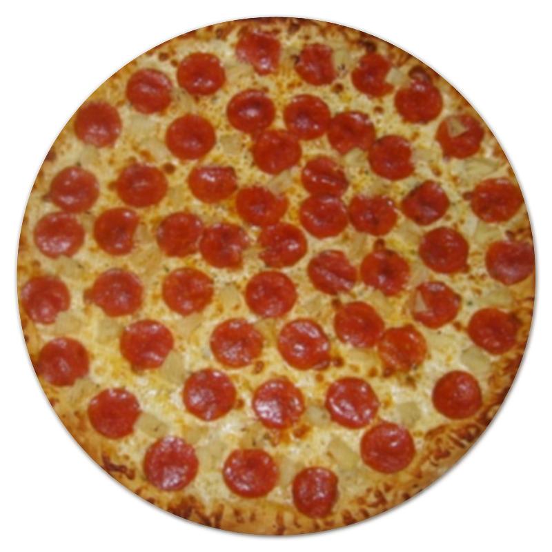 Коврик для мышки (круглый) Printio Pizza pizza dough press machine electric pizza dough roller machine