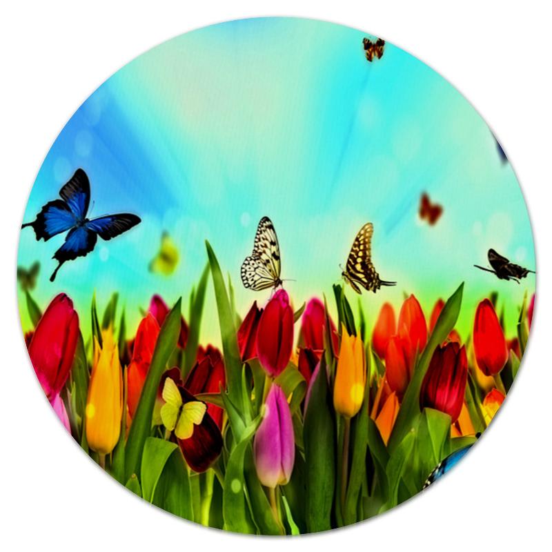 Коврик для мышки (круглый) Printio Весна
