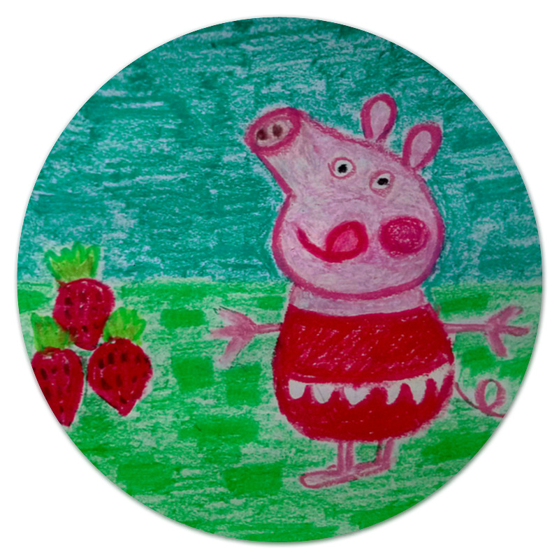 Фото - Printio Свинка коврик для мышки круглый printio веселая свинка символ 2019 года