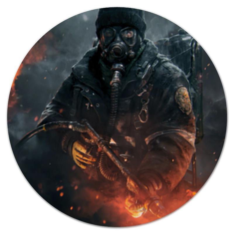 Коврик для мышки (круглый) Printio Warfare коврик для мышки printio call of duty modern warfare 3
