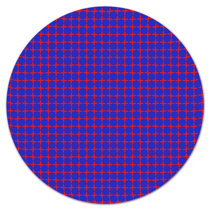 Коврик для мышки (круглый) Printio Крестики крестики коюз топаз крестики т13096149