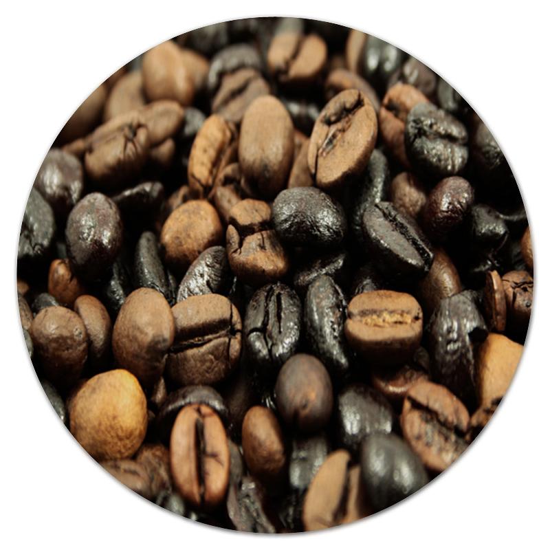 Фото - Коврик для мышки (круглый) Printio Кофейные зерна кофейные зерна