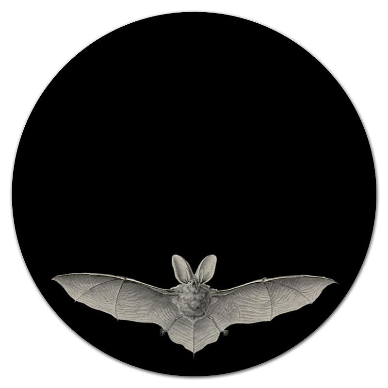 Коврик для мышки (круглый) Printio Летучая мышь, ernst haeckel