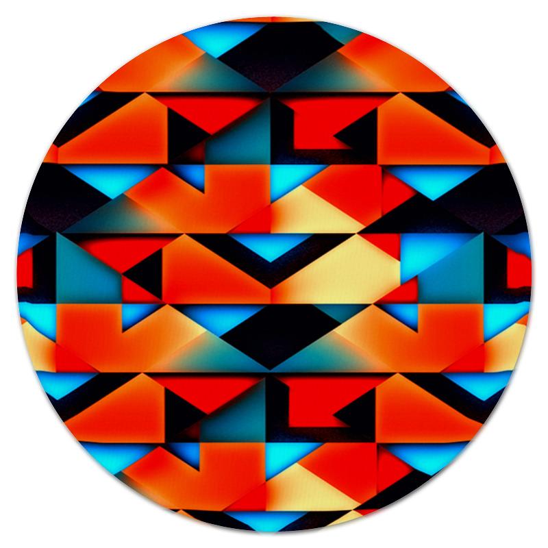 Коврик для мышки (круглый) Printio Геометрические фигуры