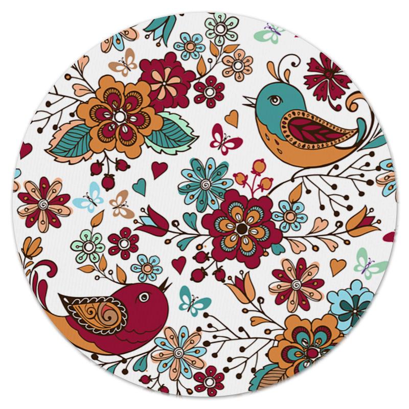 Фото - Printio Птицы и цветы коврик для мышки printio цветы