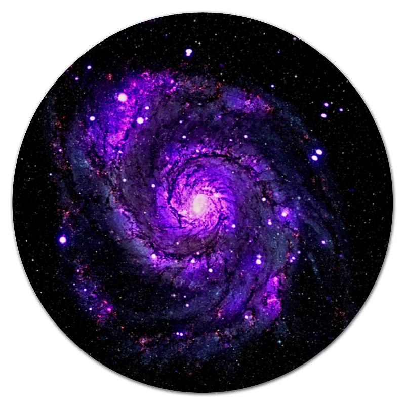 Коврик для мышки (круглый) Printio Галактика коврик для мышки круглый printio леденцы