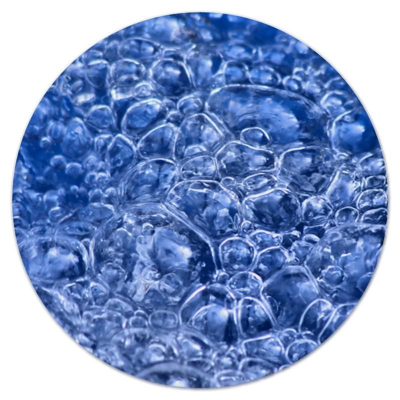 Коврик для мышки (круглый) Printio Пузыри коврик для мышки printio пузыри