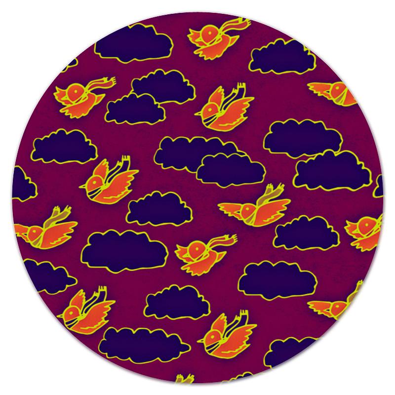 Printio Птички и облака коврик для мышки printio птички и облака