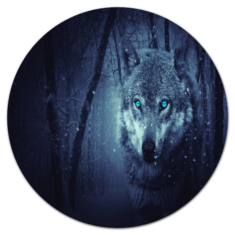 цена Printio Волчий взгляд онлайн в 2017 году
