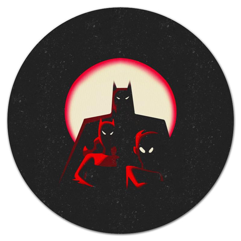 Коврик для мышки (круглый) Printio Бэтмен коврик для мышки круглый printio одуванчик