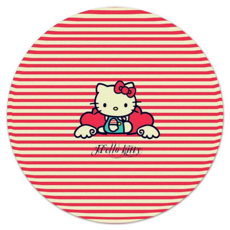 Коврик для мышки (круглый) Printio Ретро (hello kitty) коврик для мышки printio kitty в горошек
