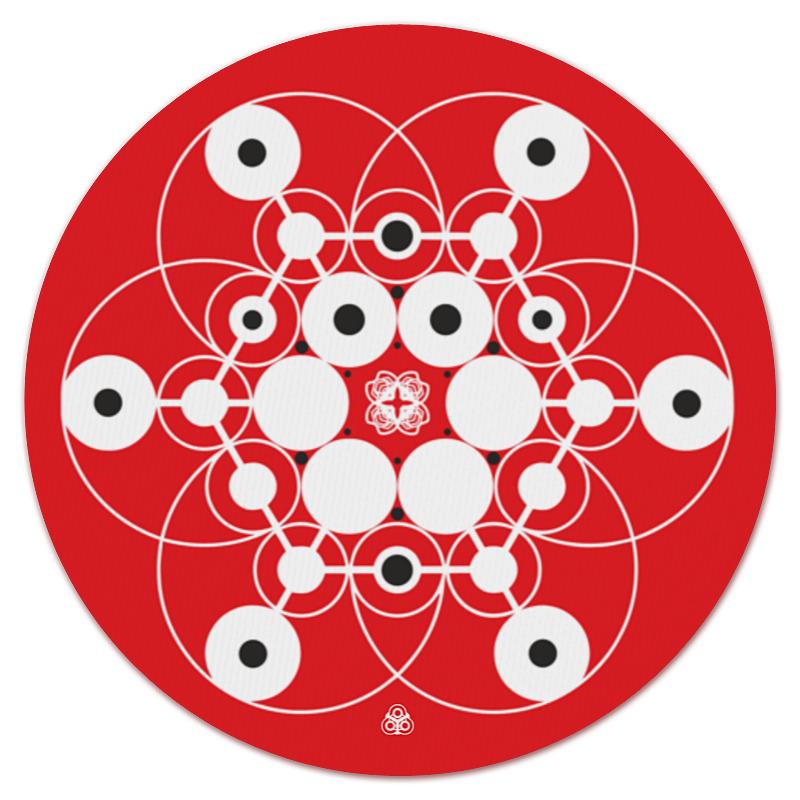 Коврик для мышки (круглый) Printio Молекула духа дешево духи молекула