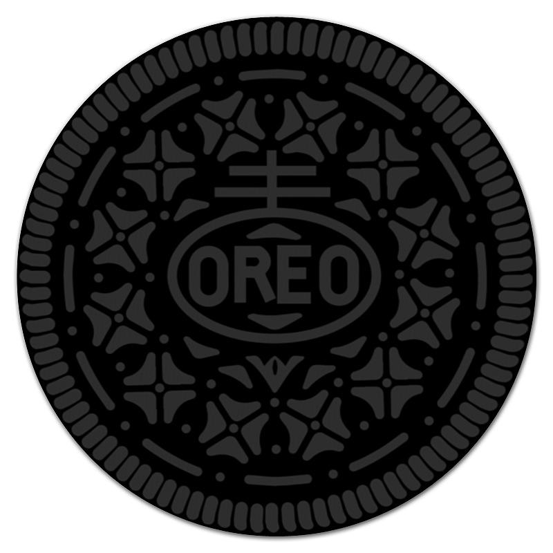 Коврик для мышки (круглый) Printio Печенье орео / oreo cookies