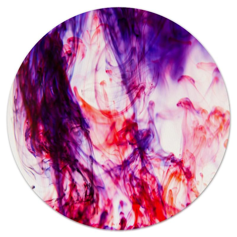 Коврик для мышки (круглый) Printio Цветной дым