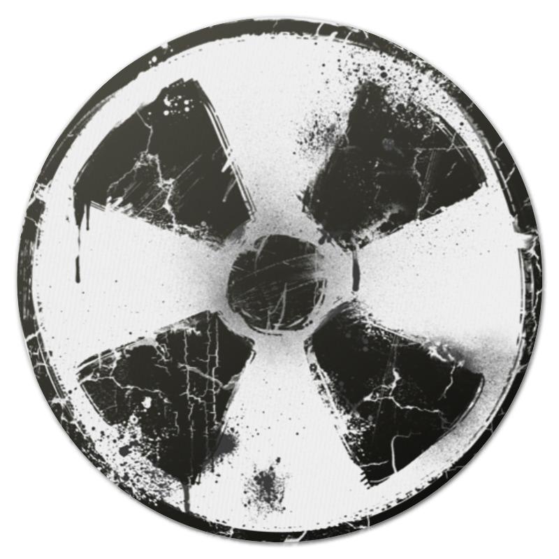 Коврик для мышки (круглый) Printio Логотип гранж