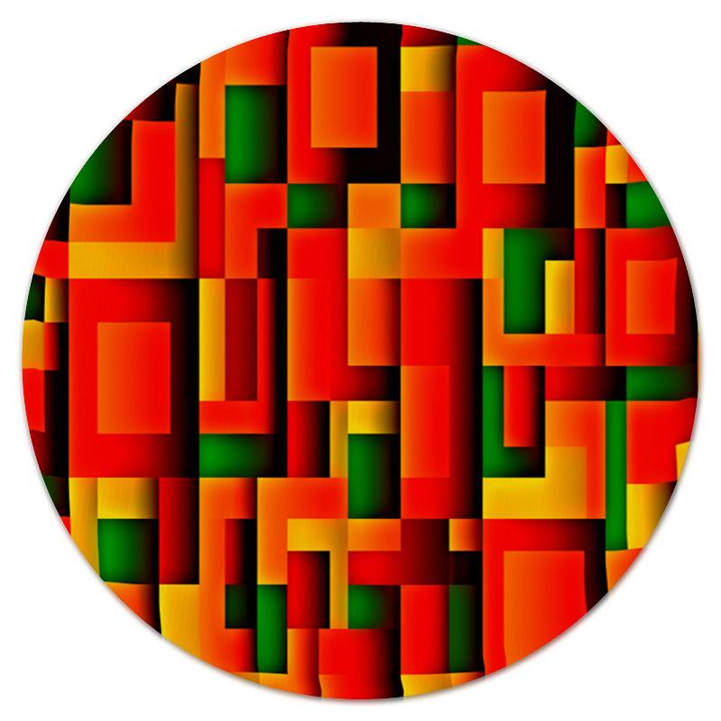 Коврик для мышки (круглый) Printio Орнамент графический коврик для мышки круглый printio орнамент