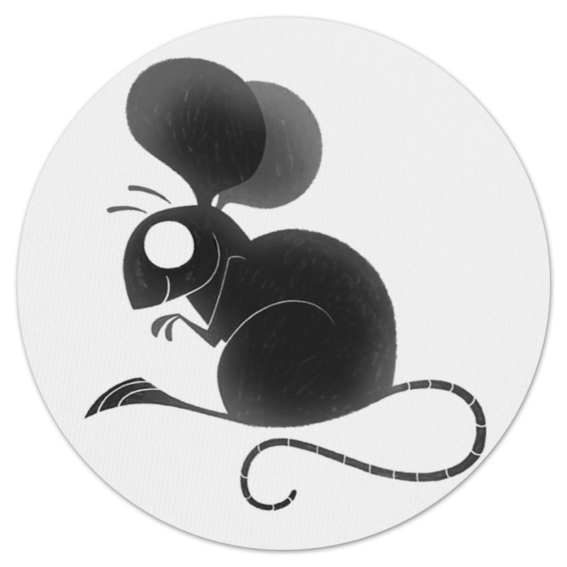 Коврик для мышки (круглый) Printio Мышка