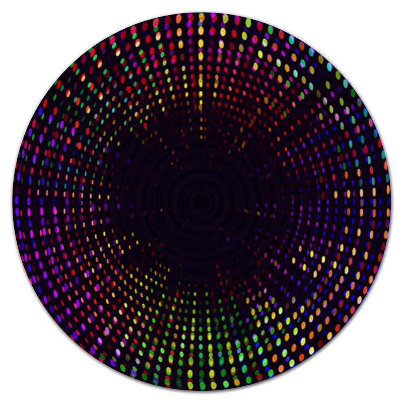 Коврик для мышки (круглый) Printio Цветные точки коврик для мышки круглый printio козел