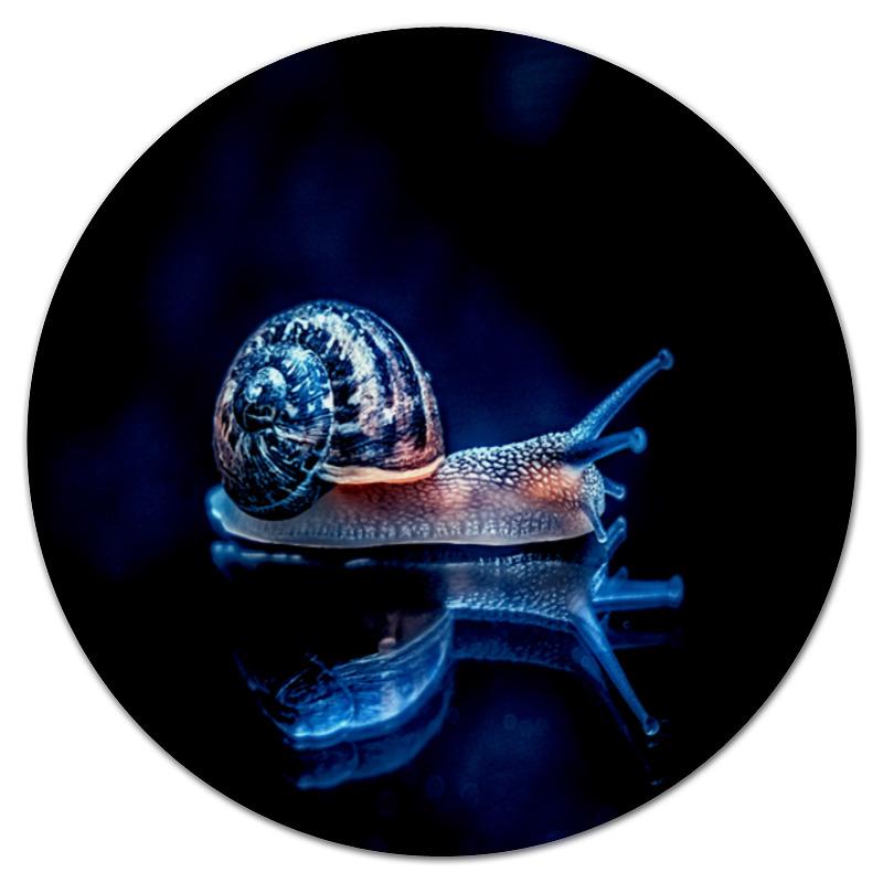 Коврик для мышки (круглый) Printio Улитка коврик для мышки printio морская улитка
