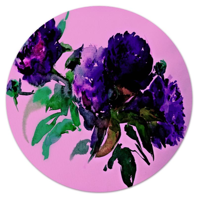 Коврик для мышки (круглый) Printio цветы красками коврик для мышки круглый printio цветы фэнтези
