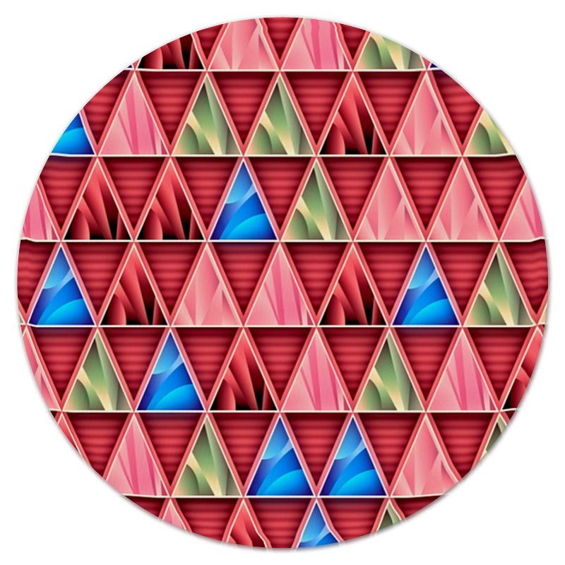 Коврик для мышки (круглый) Printio Графические фигуры