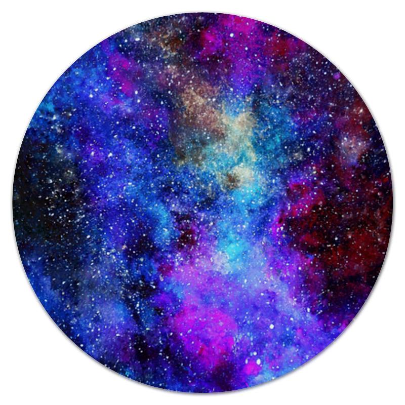 Коврик для мышки (круглый) Printio Космический