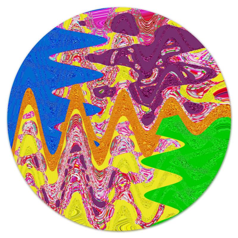 Коврик для мышки (круглый) Printio Золотой песок авторский комплект жемчуг аметист хрусталь золотой песок