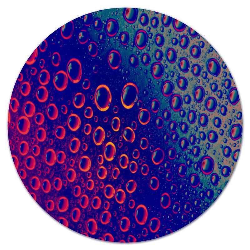 Коврик для мышки (круглый) Printio Пузырьки