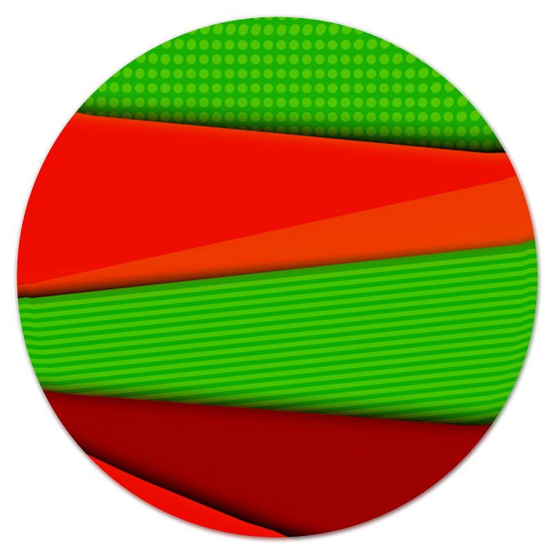 Коврик для мышки (круглый) Printio Цветные полосы юбка в складку printio цветные полосы