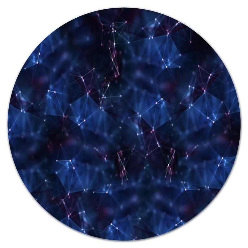 Коврик для мышки (круглый) Printio Созвездия