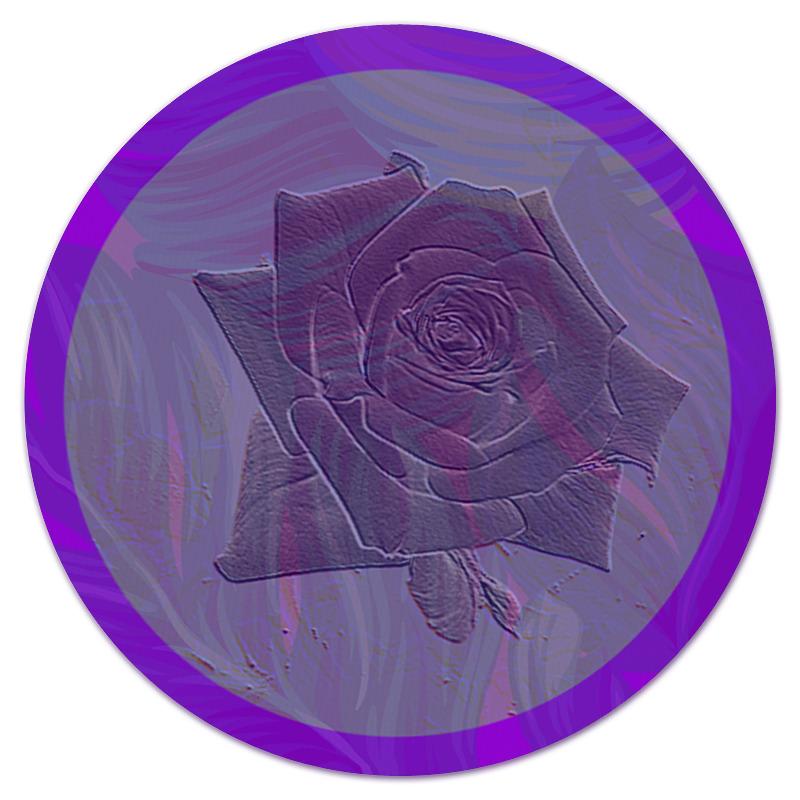 Printio Фиолетовая роза. коврик для мышки printio красная роза